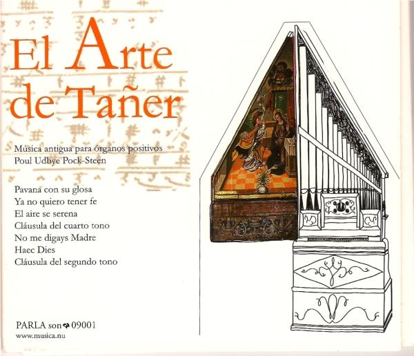 El Arte de Tañer, cover